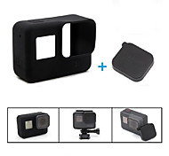 Case Lidded Wear-Resistant Scratch Resistant Stretchy For Action Camera Gopro 5 Casual Everyday Use Traveling Back Country Outdoor