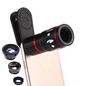 Объектив мобильного телефона coiorvis 0.67x широкий угол 180 глаз рыбы 15x макрос 10x телефото внешний объектив