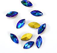 cheap -1pcs Novelty Jewelry Art Deco / Retro Rhinestones Nail Jewelry DIY Supplies 3-D Glitters Crystal Artistic Fashionable Jewelry Luxury