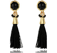 cheap -Women's Drop Earrings Basic Tassel Elegant Fashion Bohemian Personalized Cute Style Handmade Luxury Simple Style Classic Alloy Geometric