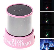 cheap -Starry Night Light LED Lighting Projector Lamp Toys ABS Romantic 1 Pieces Children's Gift