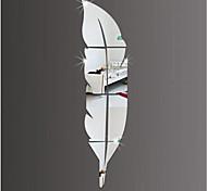 Недорогие -Геометрия Наклейки Зеркальные стикеры Декоративные наклейки на стены,Акрил материал Украшение дома Наклейка на стену