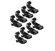 J-Hook Buckle Mount For Action Camera Gopro 6 All Gopro Xiaomi Camera SJCAM Outdoor Plastics