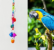 FUN OF PETS®Colorful  Snooker-shaped Chewing Lot with Bell for Birds(Random Color)