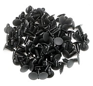 cheap -ZIQIAO 100Pcs/lot Auto Fastener Nylon Car Clips Fender Bumper Shield Retainer Plastic Rivet ForGM Ford Chrysler Automobile