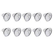 6W GU10 Focos LED MR11 1 leds COB Blanco Cálido Blanco Fresco 1lm 6500K 220V