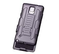 Недорогие -Для Samsung Galaxy Note со стендом Кейс для Задняя крышка Кейс для Армированный PC Samsung Note 5 / Note 4 / Note 3