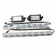 Недорогие -Ziqiao 2x автомобиль гибкий белый / янтарный выключатель светодиодный фонарик для наездника на дальнем свете для последовательного