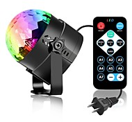 youoklight 3w rgb mini portable 3led stage magic uv light sound active led вращающаяся волшебная шариковая лампа для ktv party disco club