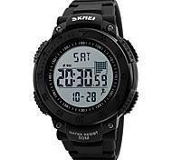 Men's Sport Watch Military Watch Wrist watch Digital Watch Japanese Digital Calendar Pedometer Stopwatch Noctilucent Rubber Band Cool