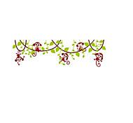 Недорогие -Животные Романтика Цветы Наклейки Простые наклейки Декоративные наклейки на стены, Бумага Винил Украшение дома Наклейка на стену Стена