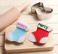 Недорогие -Файлы cookie Мультфильм образный Для Cookie Для приготовления пищи Посуда Шоколад Нержавеющая сталь Своими руками Новый год Новогодняя