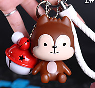 Bag / Phone / Keychain Charms Jingle Bell Cartoon Toy Phone Strap PVC
