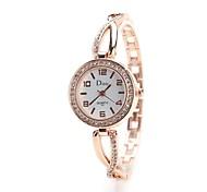 Women's Dress Watch Fashion Watch Wrist watch Simulated Diamond Watch Chinese Quartz Imitation Diamond Alloy Band Charm Vintage Casual