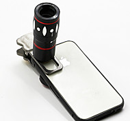10x Multi-functional 4 in1 External Camera lens Wide-angle Macro Fisheye Telephoto for Mobile Phone