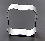 Недорогие -квадратная форма волны кулинарного торта кухня алюминиевая пресс-форма
