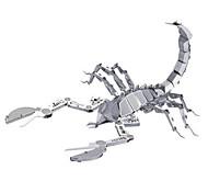 Недорогие -3D пазлы Пазлы Металлические пазлы Животный принт 3D Нержавеющая сталь Металлический сплав Металл 6 лет и выше