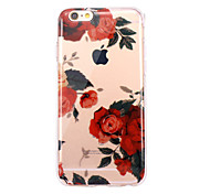 For iPhone X iPhone 8 Case Cover Ultra-thin Transparent Pattern Back Cover Case Flower Soft TPU for Apple iPhone X iPhone 8 Plus iPhone 8