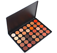 cheap -35O Colored Nature Glow Eyeshadow Palette Highlight Metalic Pigment Shimmery & Matte Wearable Warm Blending Cosmetic Set