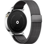 Мода магнитная нержавеющая сталь smartwatch браслет браслет браслет умные часы для huami amazfit (черный)