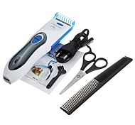 Cat Dog Grooming Clipper & Trimmer Adjustable / Retractable Rechargeable White