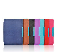 cheap -Case For KOBO Full Body Cases Full Body Cases Solid Color Hard PU Leather for