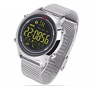 cheap -Zeblaze ® Vibe Steel Belt Sports Smart Watches 365 Days Super Standby  Waterproof Support Android Ios Systems