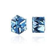 Women's Stud Earrings Synthetic Diamond AAA Cubic Zirconia Fashion Personalized Crystal Zircon Cubic Zirconia Geometric Irregular Jewelry