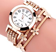 cheap -Women's Kid's Fashion Watch Bracelet Watch Casual Watch Chinese Quartz Chronograph Water Resistant / Water Proof PU Band Creative Casual