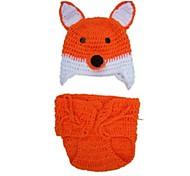 Animal Hats Kid Halloween Children's Day Festival / Holiday Halloween Costumes Orange Fashion