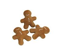 Недорогие -Плюшевые игрушки Игрушки с писком Скрип Новогодняя тематика Искусственный мех Назначение Игрушка для собак