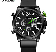 Men's Sport Watch Casual Watch Digital Watch Chinese Digital Calendar / date / day Water Resistant / Water Proof LED Dual Time Zones