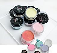 Art Deco/Retro Sequins Nail Salon Tool Nail Art Crystal Nail Crystal Powder Kit 10/Color