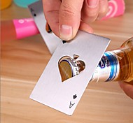 1pc покер форма из нержавеющей стали бутылка открывалка соды пивной колпачок инструменты