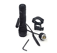 ANOWL LED Flashlights / Torch LED 1200 lm 1 Mode XM-L2 U2 Remote Control Easy Carrying for Hunting No