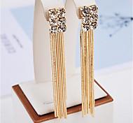 cheap -Women's Drop Earrings Tassel Fashion Rhinestone Alloy Jewelry For Party Daily