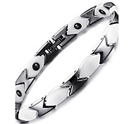 cheap -Women's Chain Bracelet Bangles Natural Fashion China Titanium Steel Circle Jewelry Jewelry For Gift Daily
