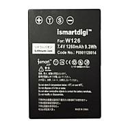 Недорогие -ismartdigi w126 7.4v 1260mah аккумулятор для камеры fujifilm np-w126 xa3 xt20 xa10 xt2 xa2 xt10 xt1 x100f