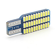 10x T10 Canbus W5W LED 3014 33SMD Car LED Indicator Dome Lamp Panel light Bulbs
