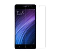 preiswerte -Displayschutzfolie XIAOMI für Xiaomi Redmi 4 Hartglas 1 Stück Vorderer Bildschirmschutz 2.5D abgerundete Ecken 9H Härtegrad High