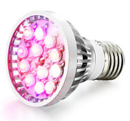 Недорогие -1шт 8 Вт. 600-680 lm E14 GU10 E26/E27 Растущие лампочки 12 светодиоды Высокомощный LED Естественный белый UV (лампа черного света) Синий