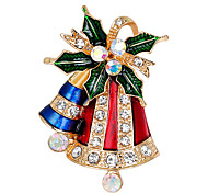 cheap -Women's Others Rhinestone Brooches - Fashion / Christmas Assorted Color Brooch For Christmas / Gift