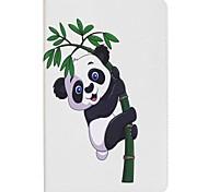panda e bambù portafoglio con portafoglio magnetico in cuoio per la scheda galassia samsung a 10.1 t580n t585n tablet pc da 10.1 pollici