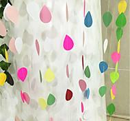 Недорогие -2m красочные бумага-вода-падение свадьба день рождения фон фон настенный украшение гирлянда