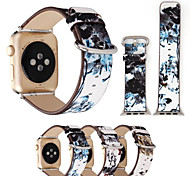 For Apple Watch 3 iWatch Handmade Replacement Band Strap Pattern Design 38mm 42mm