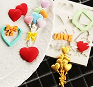 Недорогие -Формы для пирожных конфеты Силиконовые Для детской День Благодарения Праздник Оригинальные День рождения Новый год