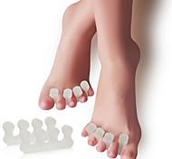 Ступни массажер Toe Сепараторы и мозолей Pad Массаж Облегчить боль в ногах Коррекция осанки Защитный ортопедических