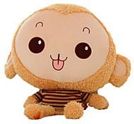 Мягкие игрушки Куклы Фаршированная подушка Игрушки Обезьяна Животный принт Не указано Куски