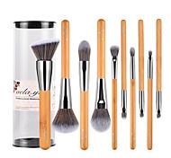 10 Contour Brush Makeup Brush Set Blush Brush Lip Brush Brow Brush Eyeliner Brush Concealer Brush Powder Brush Foundation Brush Synthetic