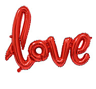 cheap -Big Size Love Letters Foil Balloon Romantic Mylar Lovely Balloons